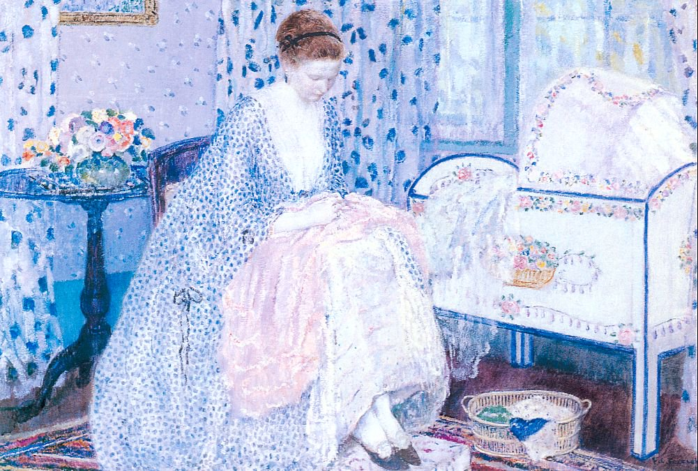 Peace | Frederick Carl Frieseke | oil painting