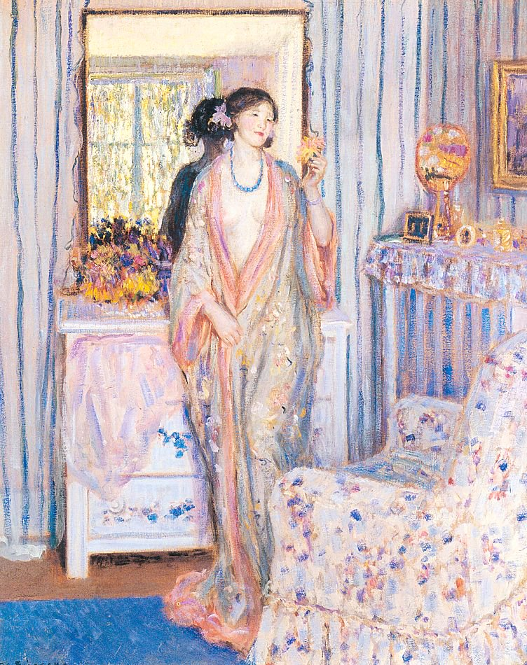 The Robe | Frederick Carl Frieseke | oil painting