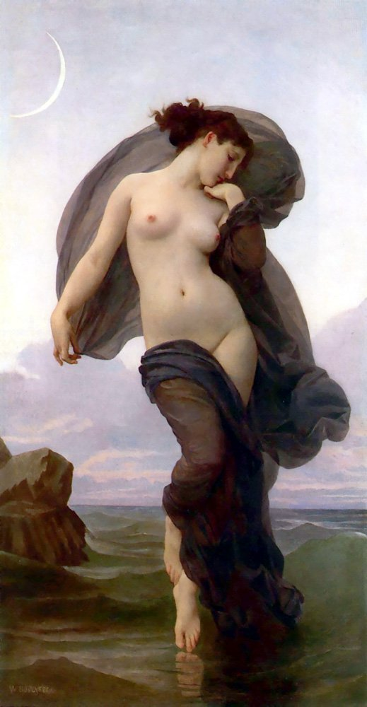 Evening Mood | William Bouguereau | oil painting