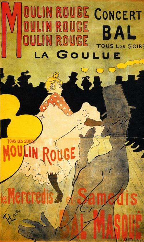 Moulin Rouge 1891 | Henri Toulouse Lautrec | oil painting
