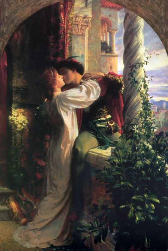 Romeo And Juliet | Sir Frank Dicksee | oil painting