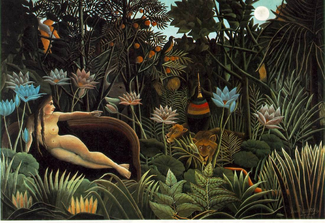 The Dream 1910 | Henri Rousseau | oil painting