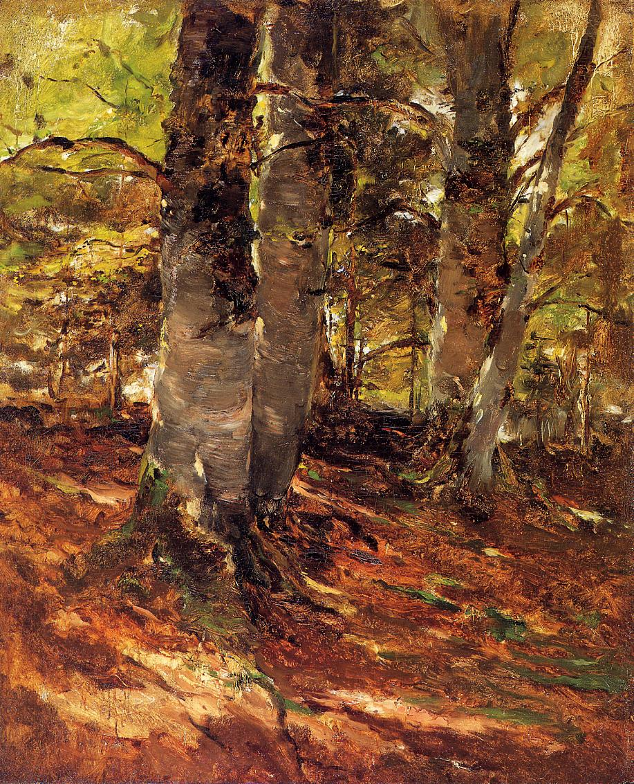 Beachwoods at Polling 1878 | Frank Duveneck | oil painting