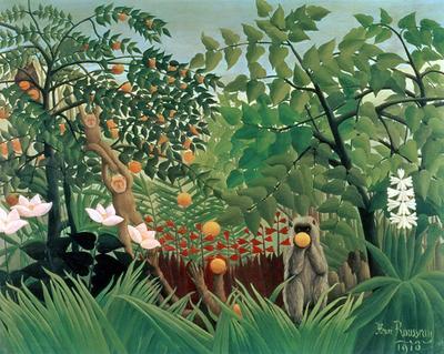 Exotic Landscape 1910 | Henri Rousseau | oil painting