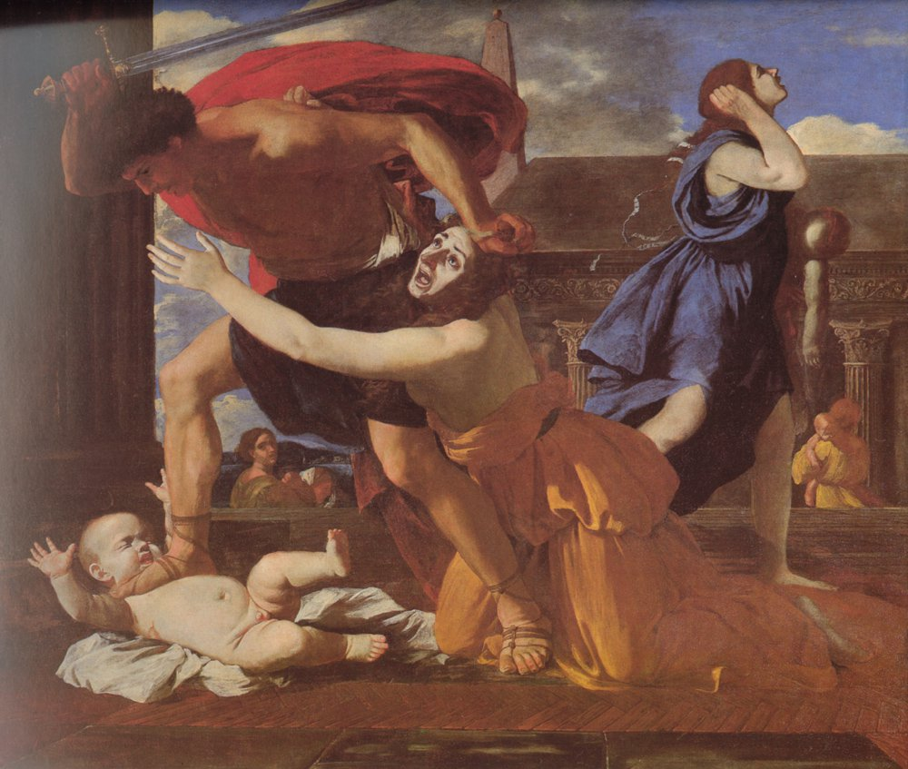 The Massacre of the Innocents | Nicolas Poussin | oil painting