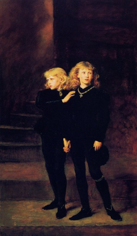 Princess in the Tower | Sir John Everett Millais | oil painting