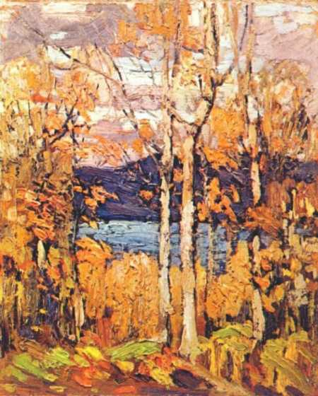 Algonquin October | Tom Thompson | oil painting