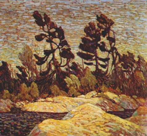 Byng Inlet Georgian Bay | Tom Thompson | oil painting