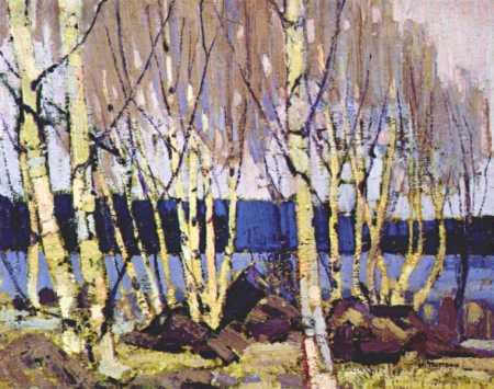 Evening Canoe Lake | Tom Thompson | oil painting