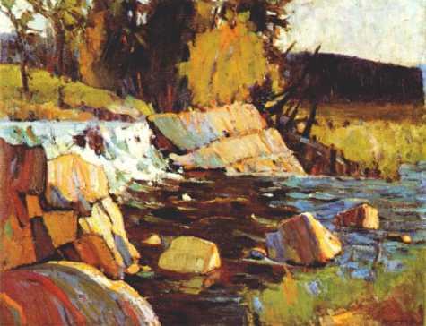 Little Falls | Tom Thompson | oil painting