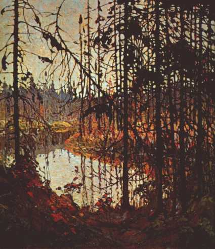 Northern River | Tom Thompson | oil painting