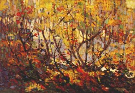 Opulent October | Tom Thompson | oil painting