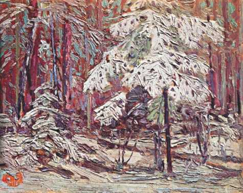 Snow in the Woods | Tom Thompson | oil painting