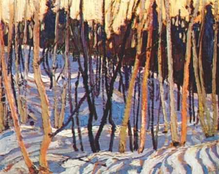 Snow Shadows | Tom Thompson | oil painting