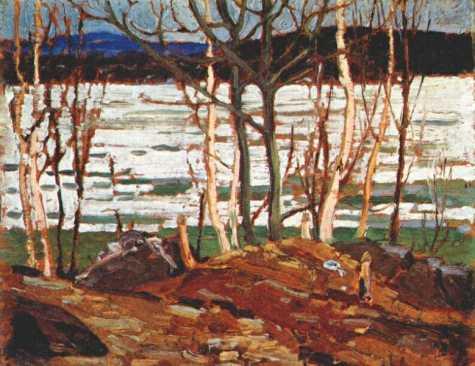 Spring Breakup | Tom Thompson | oil painting