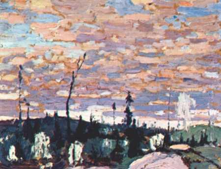 Sunrise | Tom Thompson | oil painting