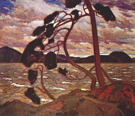 The West Wind | Tom Thompson | oil painting