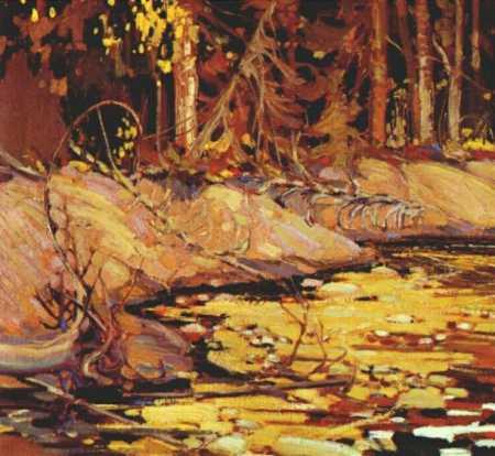 The Woodland Stream | Tom Thompson | oil painting