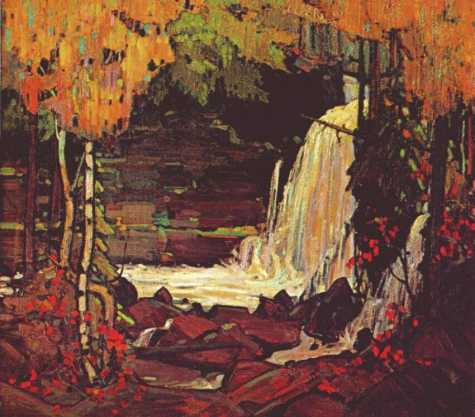 Woodland Waterfall | Tom Thompson | oil painting