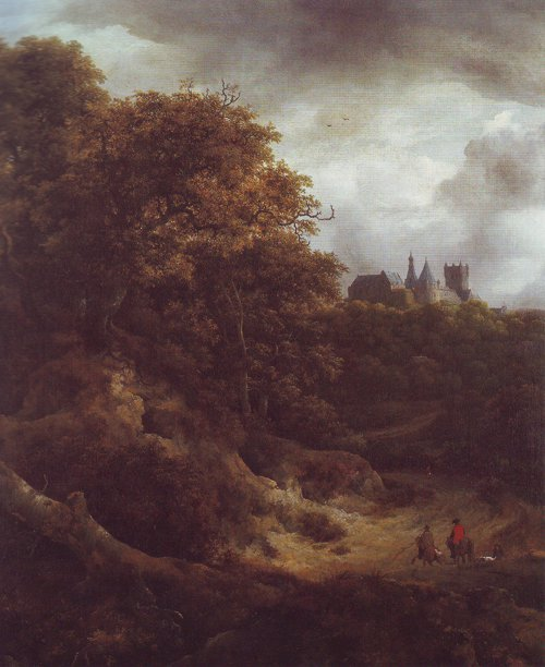 Benthim casle3 | Jacob Van Ruisdael | oil painting