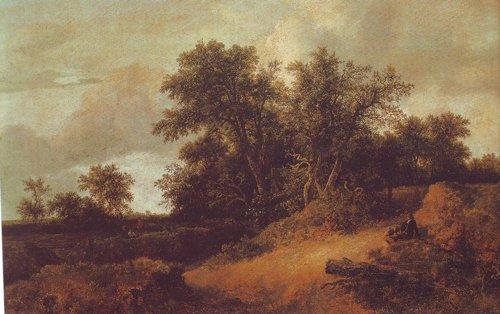 Dune landscape | Jacob Van Ruisdael | oil painting