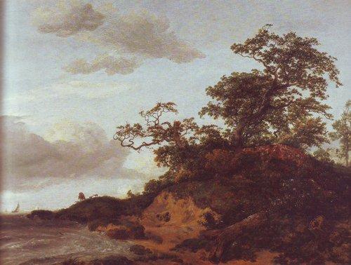Dunes by the sea | Jacob Van Ruisdael | oil painting