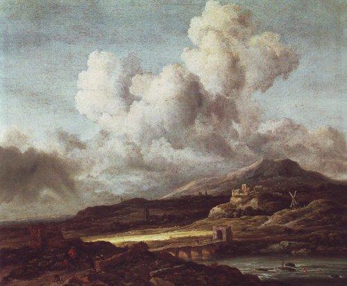 Le coup de soteil | Jacob Van Ruisdael | oil painting