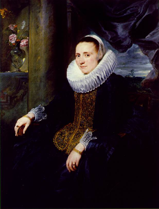 Margareta Snyders 1620 | Anthony van Dyck | oil painting