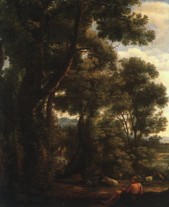 Landscape with Goatherd 1636 | Claude Lorrain | oil painting
