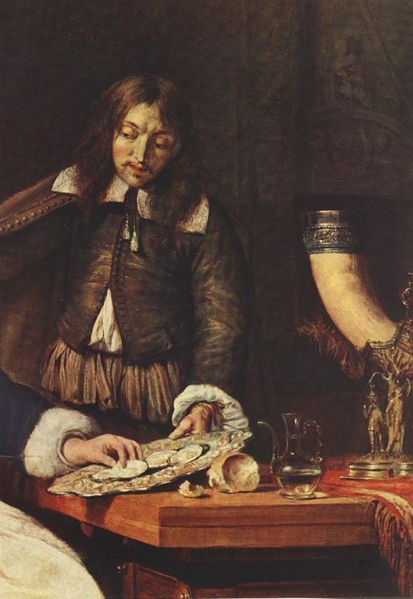 Breakfast Detalj 1660 | Gabriel Metsu | oil painting