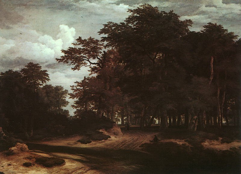 The Great Forest | Jacob Van Ruisdael | oil painting