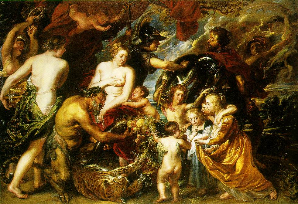 Allegory on the blessings of peace 1629 30 | Peter Paul Rubens | oil painting