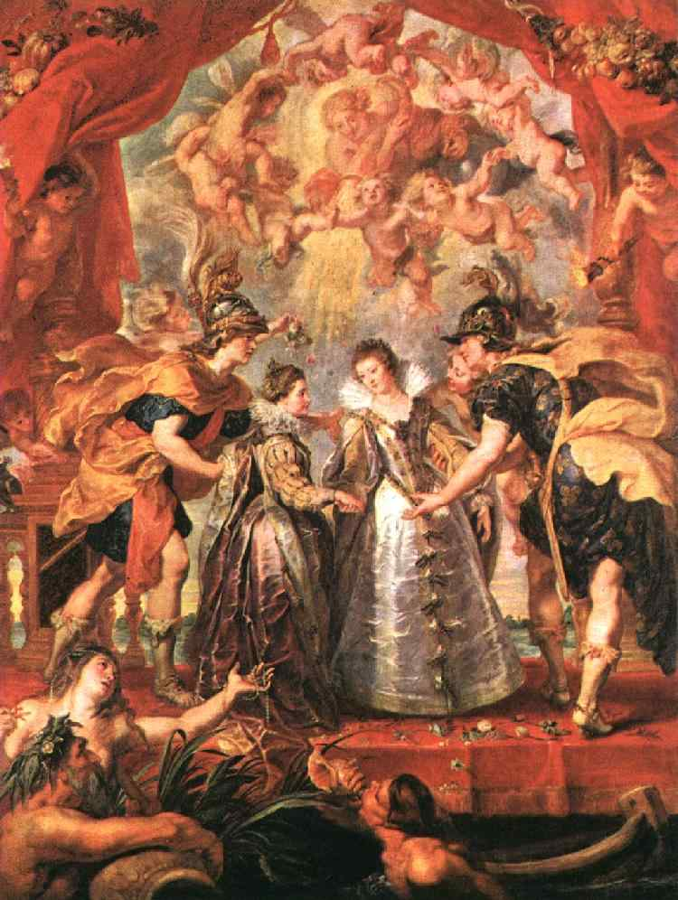 An Exchange of Princesses 1621 1625 | Peter Paul Rubens | oil painting