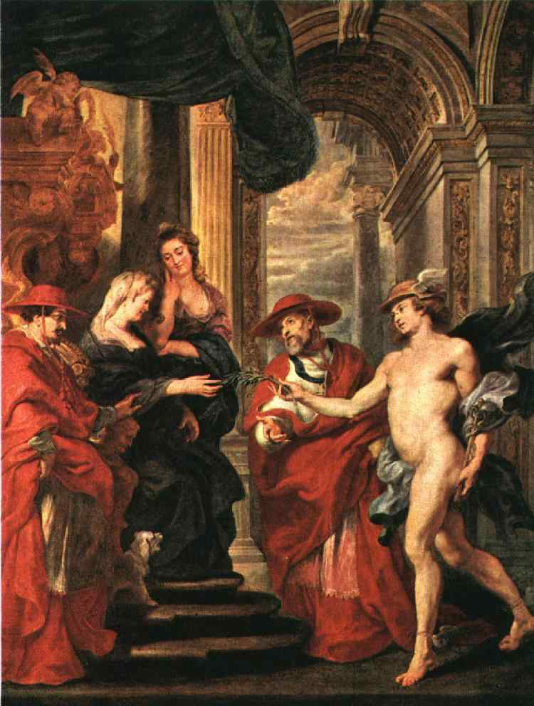 An Offer of Negotiation 1621 1625 | Peter Paul Rubens | oil painting