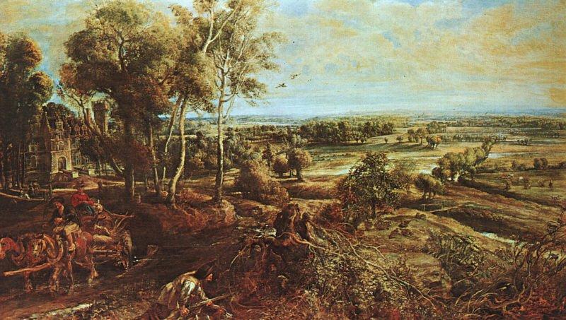 Chateau de Steen | Peter Paul Rubens | oil painting