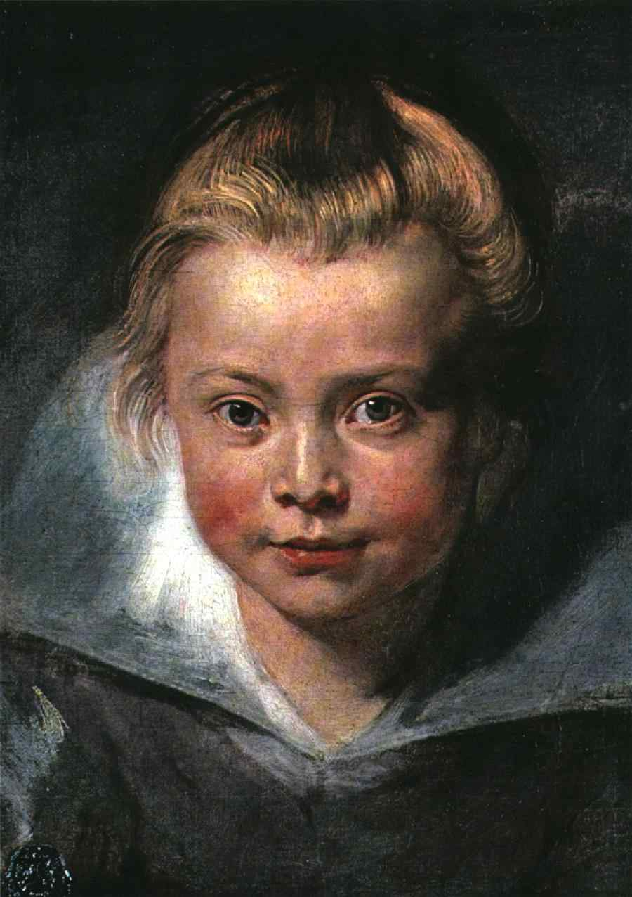 Child's head 1618 | Peter Paul Rubens | oil painting