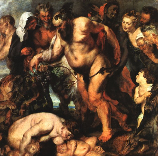 Drunken Silenus 1618 | Peter Paul Rubens | oil painting