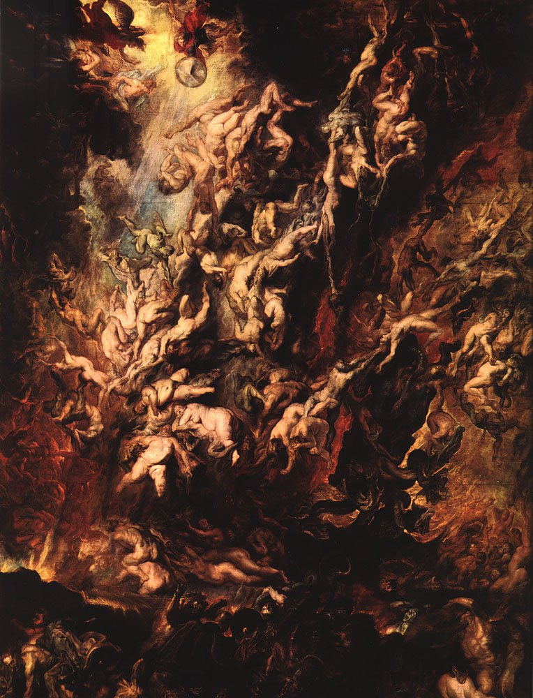 Fall of the Rebel Angels 1620 | Peter Paul Rubens | oil painting