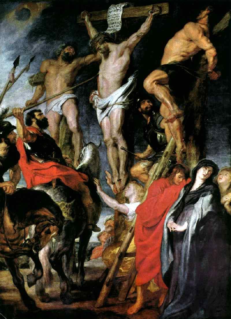 Le coup de lance 1618 | Peter Paul Rubens | oil painting