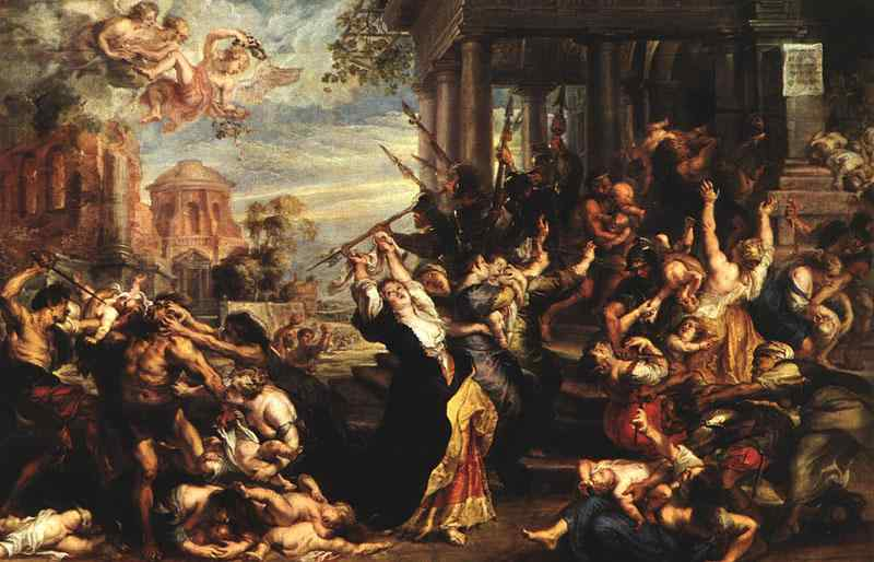 Massacre of the Innocents 1621 | Peter Paul Rubens | oil painting