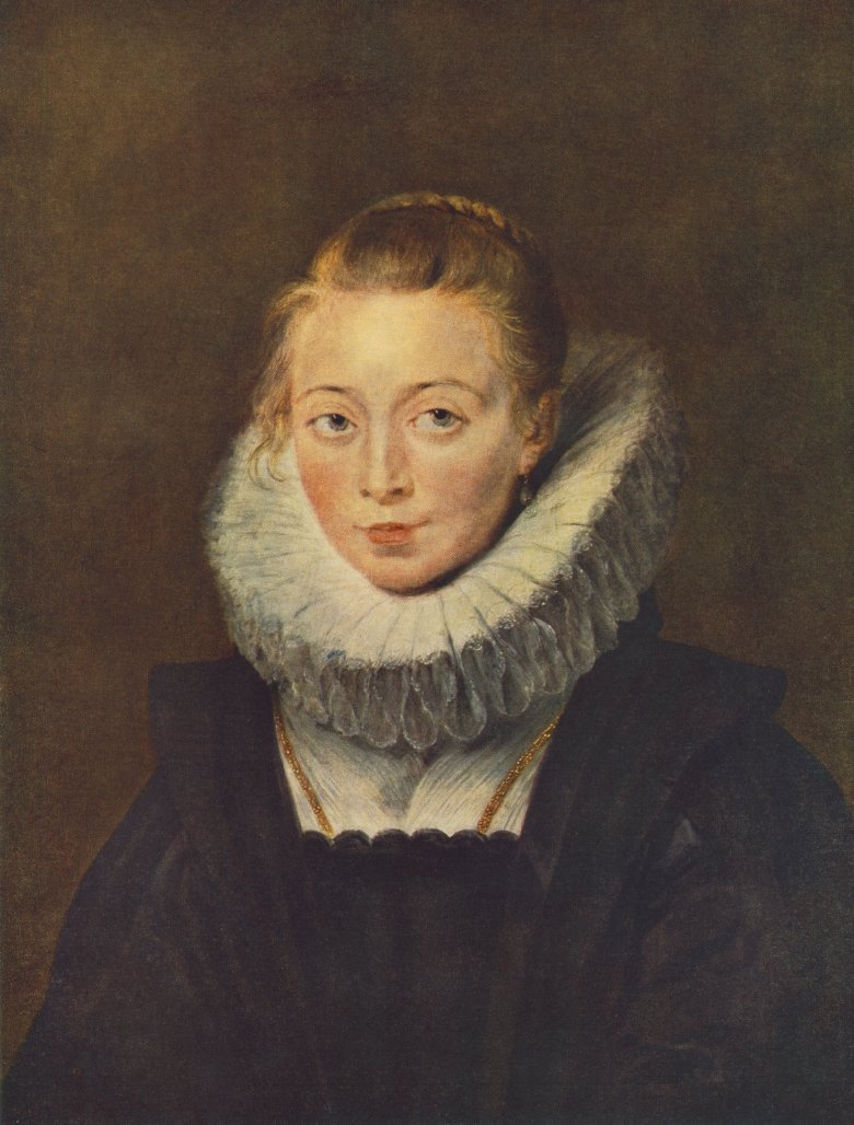 Portrait of a Chambermaid of Infanta Isabella | Peter Paul Rubens | oil painting