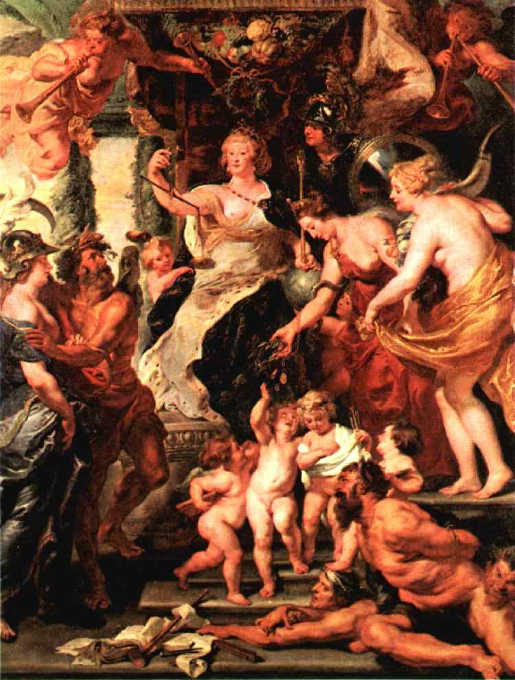 Protector of the Arts 1621 1625 | Peter Paul Rubens | oil painting