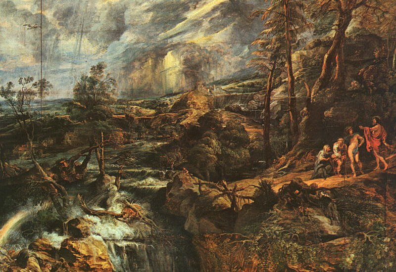 Stormy Landscape approx 1624 | Peter Paul Rubens | oil painting