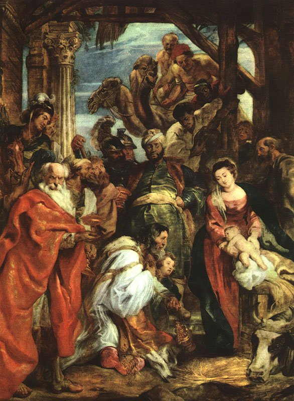 The adoration of the magi 1624 | Peter Paul Rubens | oil painting