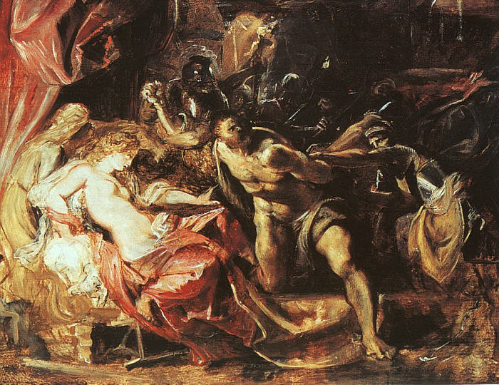 The Capture of Samson 1609 10 | Peter Paul Rubens | oil painting