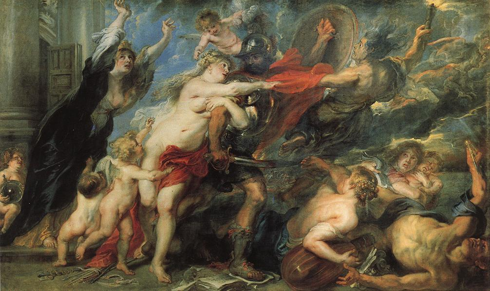 The Consequences of War | Peter Paul Rubens | oil painting