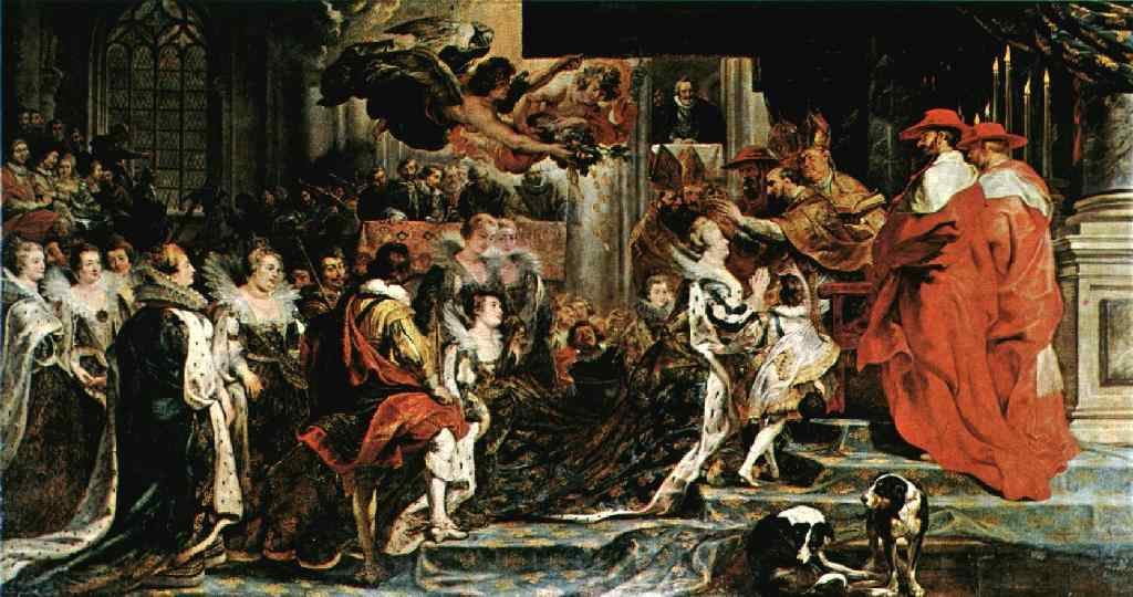 The Coronation of Marie 1621 1625 | Peter Paul Rubens | oil painting