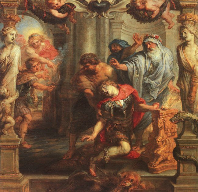 The Death of Achilles | Peter Paul Rubens | oil painting