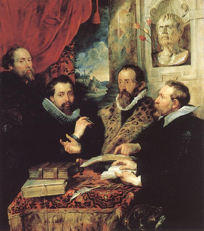 The Four Philosophers | Peter Paul Rubens | oil painting