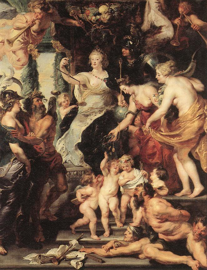 The Happiness of the Regency 1623 25 | Peter Paul Rubens | oil painting